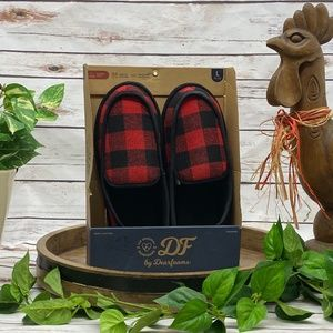 Dearfoams Indoor Outdoor Slippers L 11-12 NEW NWT